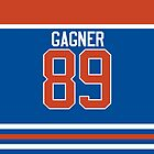Oilers Sam Gagner Jersey by jdsmdlo