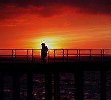 Whitby Sunset by PaulBradley