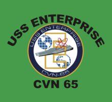 USS Enterprise (CVN-65) Baby Tee