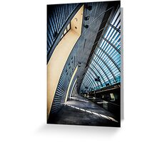 Avignon TGV Station Greeting Card