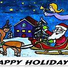 Happy Holidays by Monica Engeler