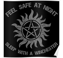 SPN Sleep With A Winchester Poster