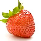 Single Strawberry by Ellesscee