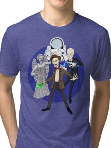 11th Doctor Tri-blend T-Shirt