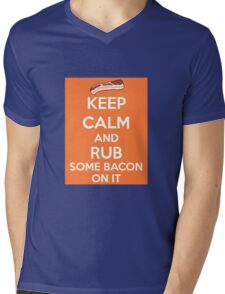 Rub Some Bacon on It  Mens V-Neck T-Shirt