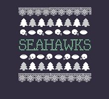 Seattle Seahawks Ugly Christmas Costume. Unisex T-Shirt