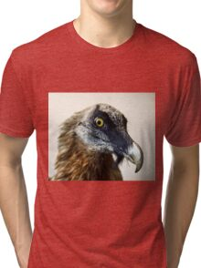 Stuffed wild bird head in museum of nature Tri-blend T-Shirt