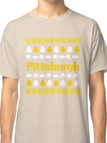 Pittsburgh Steelers Ugly Christmas Costume. Classic T-Shirt