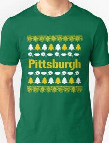 Pittsburgh Steelers Ugly Christmas Costume. Unisex T-Shirt