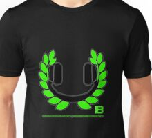 HEADPHONE WREATH - JULY 2012 MERCH - CRUNKECOWEAR.NET BEGREENRECORDS.NET Unisex T-Shirt