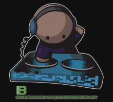 SIMPLE-CARTOON-DJ-GUY - JULY 2012 MERCH - CRUNKECOWEAR.NET BEGREENRECORDS.NET by David Avatara