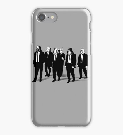 RESERVOIR FOES b&w iPhone Case/Skin