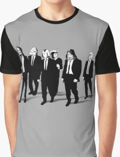 RESERVOIR FOES b&w Graphic T-Shirt