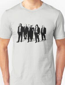 RESERVOIR FOES b&w Unisex T-Shirt