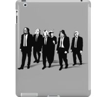 RESERVOIR FOES b&w iPad Case/Skin