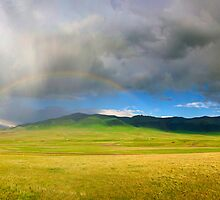 Rainbow after the storm by iPostnikov