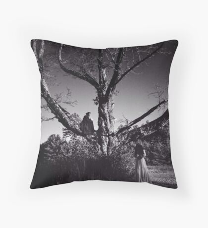 Death Watches Throw Pillow