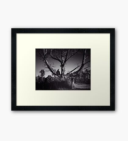 Death Watches Framed Print