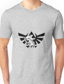 Link and Triforce Unisex T-Shirt