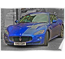 Maserati GranTurismo Poster