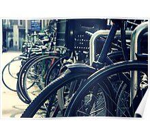 Bike Rack, Amsterdam Poster