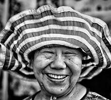 Hat Lady. by Darren  Rooney
