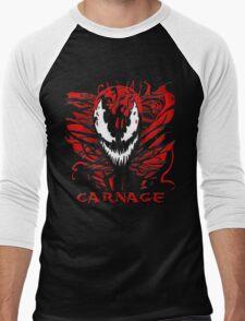 Carnage Men's Baseball ¾ T-Shirt