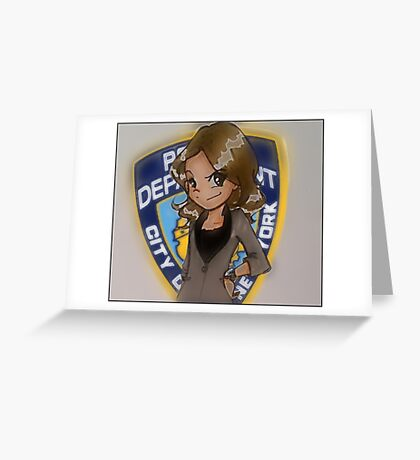 KB NYPD Greeting Card