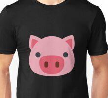 Pig Face Emoji Unisex T-Shirt