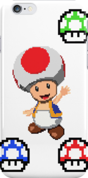 Pixel Toad by TheWinterCold
