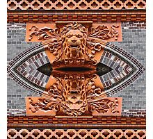 Red Lions on Storgatan in Gothenburg Photographic Print