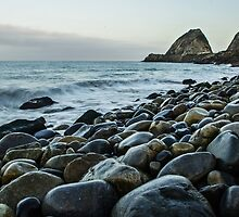 Point Mugu Rocks by James Nagy