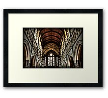 ~ gothic faith ~ Framed Print