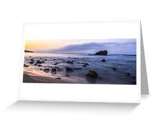 Morning Coast Greeting Card