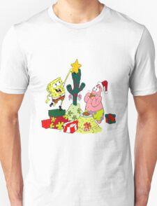 Merry Christmas From Spongebob Unisex T-Shirt