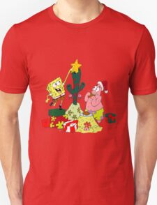 Merry Christmas From Spongebob T-Shirt
