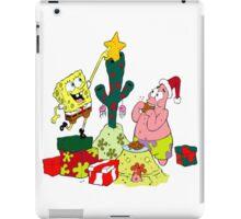 Merry Christmas From Spongebob iPad Case/Skin