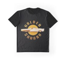 Golden Sahara Graphic T-Shirt