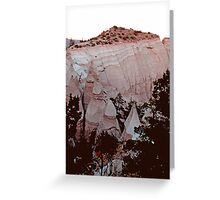 The Summit of Tent Rocks, NM  Greeting Card