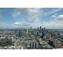 A Seattle Downtown Photographic Print
