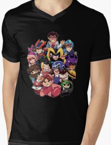 MegaGrumps Mens V-Neck T-Shirt