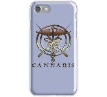 Weed cannabis health drug gifts  iPhone Case/Skin