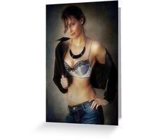 If the Jacket Fits II Greeting Card