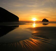 Cornwall: Patterns in the Sunset by Rob Parsons