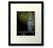 Glass Bottle Framed Print