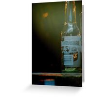 Glass Bottle Greeting Card