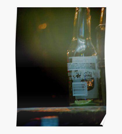 Glass Bottle Poster