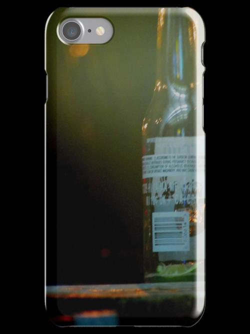 Glass Bottle by herenameinsert