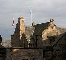 Structure of Edinburgh Castle - inside by ashishagarwal74