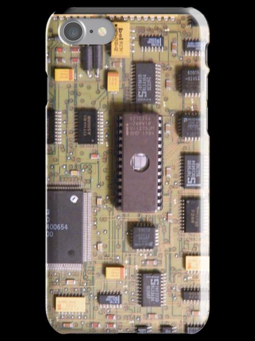 "Retro Circuits #7 ""1984"" by ASCIIcat"